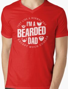 I Am A Bearded Mens V-Neck T-Shirt