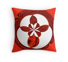 Confused Checkers Throw Pillow