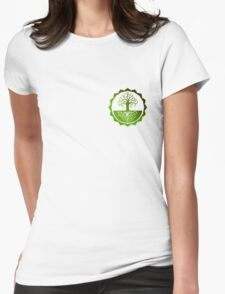 Yoga Reliance Tree Womens Fitted T-Shirt