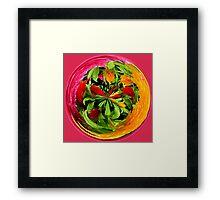 Jungle Colours Framed Print