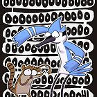 Regular Show Oooh! by exeivier