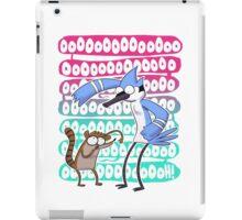 Regular Show Oooh! white version iPad Case/Skin