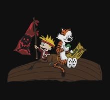 Calvin and Hobbes Adventure One Piece - Short Sleeve