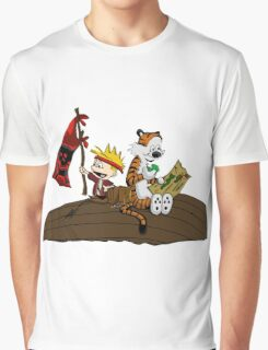Calvin and Hobbes Adventure Graphic T-Shirt