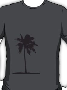 Palm tree on the beach sun sea T-Shirt