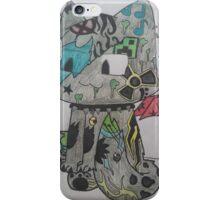 Graffiti Cat iPhone Case/Skin