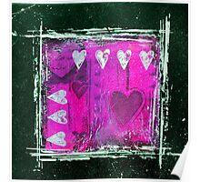 Wild at heart pinkish Poster