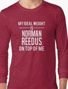 Ideal weight - Norman Reedus Long Sleeve T-Shirt