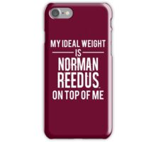 Ideal weight - Norman Reedus iPhone Case/Skin