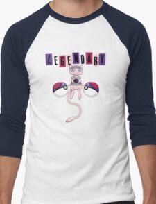 LEGENDARY (TEXT) Men's Baseball ¾ T-Shirt