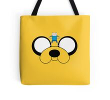 Jake and Fin - Adventure Time Tote Bag