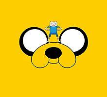 Jake and Fin - Adventure Time by Jonnybravo245