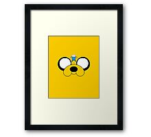 Jake and Fin - Adventure Time Framed Print