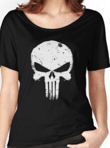 punisher Skull Women's Relaxed Fit T-Shirt