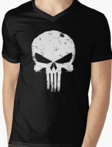 punisher Skull Mens V-Neck T-Shirt