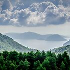 Cloudy Skopelos Morning by David Bradbury