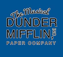 Dunder Mifflin, Inc (The Musical) by GenialGrouty