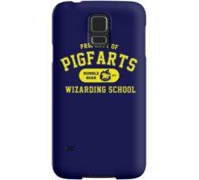 Starkid: Pigfarts wizarding school (yellow) Samsung Galaxy Case/Skin
