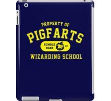 Starkid: Pigfarts wizarding school (yellow) iPad Case/Skin