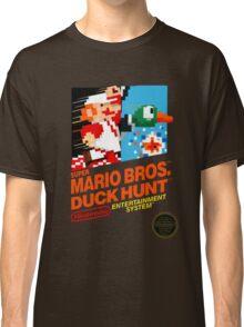 NES Super Mario Bros & Duck Hunt  Classic T-Shirt