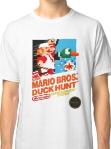 NES Super Mario Bros & Duck Hunt  Classic T-Shirt
