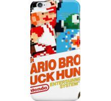 NES Super Mario Bros & Duck Hunt  iPhone Case/Skin