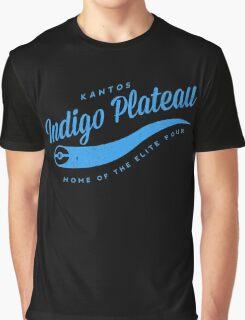 Indigo Plateau (blue) Graphic T-Shirt