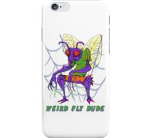 Weird Fly Dude iPhone Case/Skin