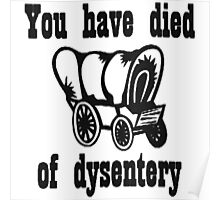 You Have Died of Dysentery Poster