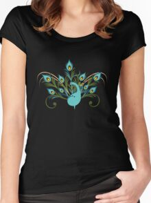 Just a Peacock - Tee Women's Fitted Scoop T-Shirt