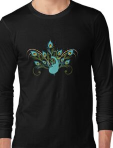 Just a Peacock - Tee Long Sleeve T-Shirt