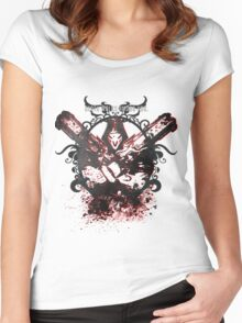Death Walks Among You Women's Fitted Scoop T-Shirt