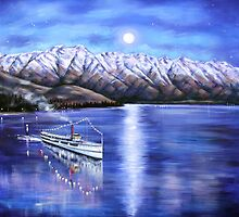Evening Cruise Queenstown by Ira Mitchell-Kirk