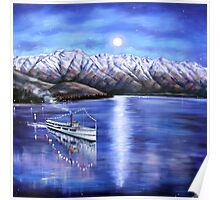 Evening Cruise Queenstown Poster