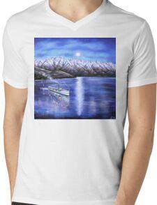 Evening Cruise Queenstown Mens V-Neck T-Shirt