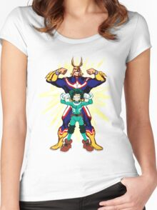 PLUS ULTRA! Women's Fitted Scoop T-Shirt