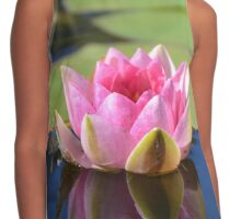 Water Lily (Pink) Contrast Tank