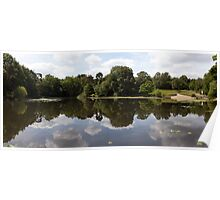 Keston Ponds Panorama  Poster