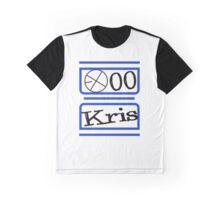 EXO M KRIS Graphic T-Shirt