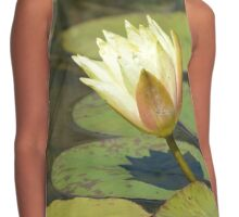 Water Lily (Yellow) Contrast Tank