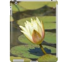 Water Lily (Yellow) iPad Case/Skin
