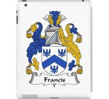 Francis Coat of Arms / Francis Family Crest iPad Case/Skin