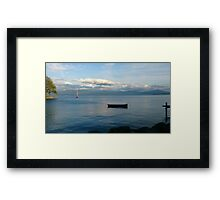 Suisse Port. Framed Print