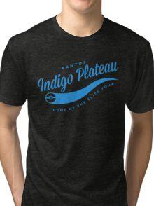 Indigo Plateau (blue) Tri-blend T-Shirt