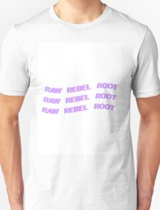 DEAN - KHIPHOP - RAW REBEL ROOT - PASTEL Unisex T-Shirt