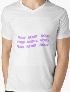 DEAN - KHIPHOP - RAW REBEL ROOT - PASTEL Mens V-Neck T-Shirt