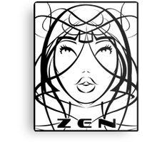 ZEN Visage 2 Metal Print