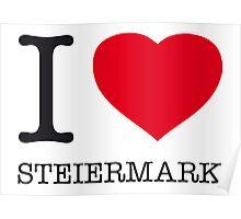 I ♥ STEIERMARK Poster