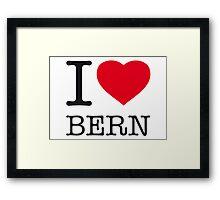 I ♥ BERN Framed Print