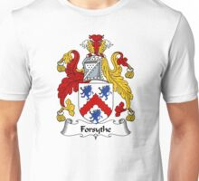 Forsythe Coat of Arms / Forsythe Family Crest Unisex T-Shirt